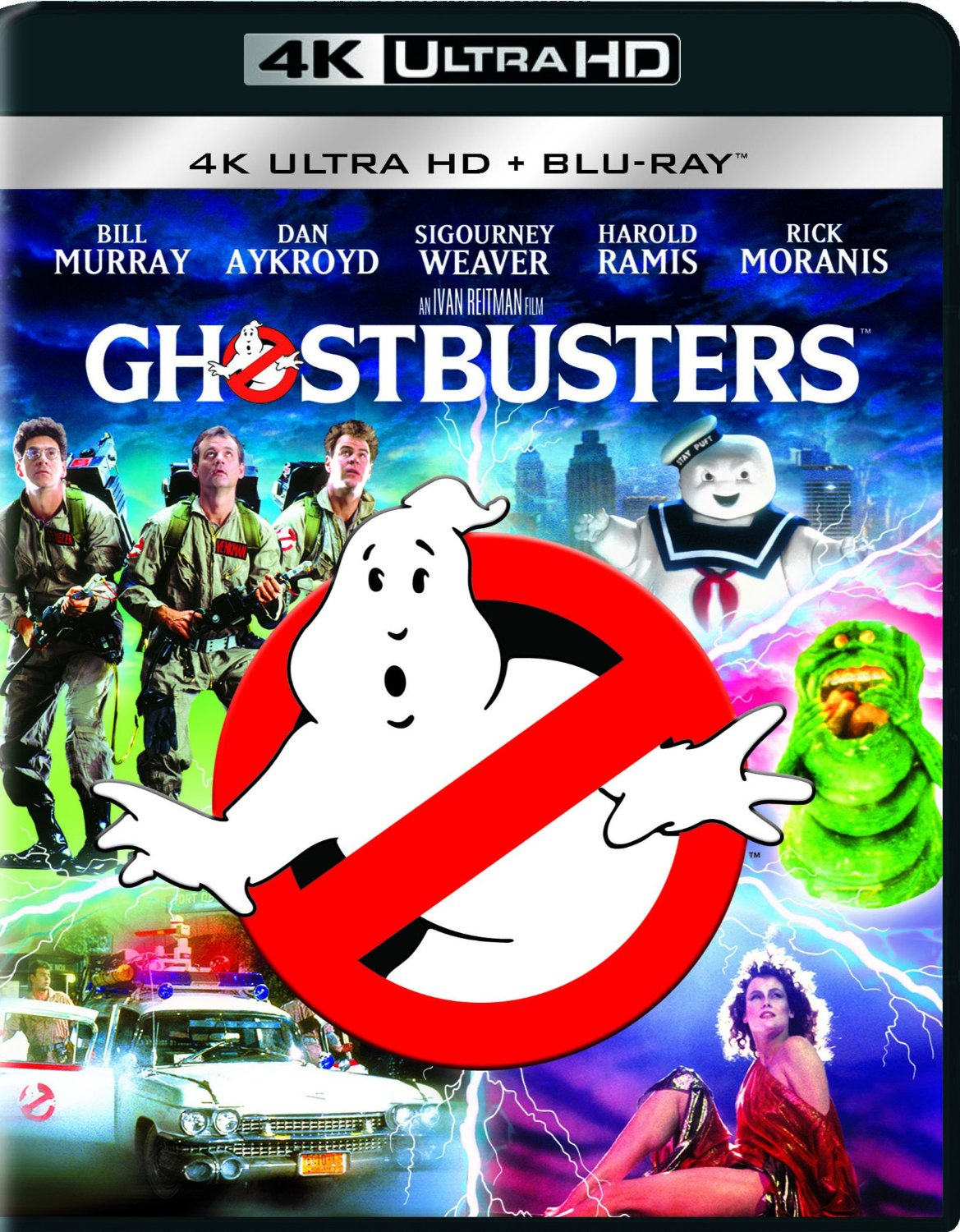 ghostbusters 4K Cover