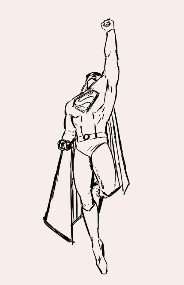 Supermansketch