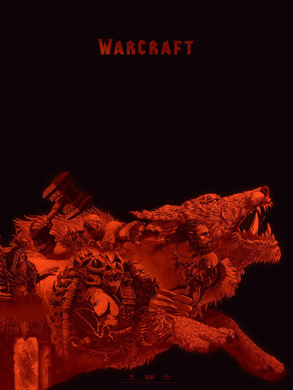 Warcraft print 1