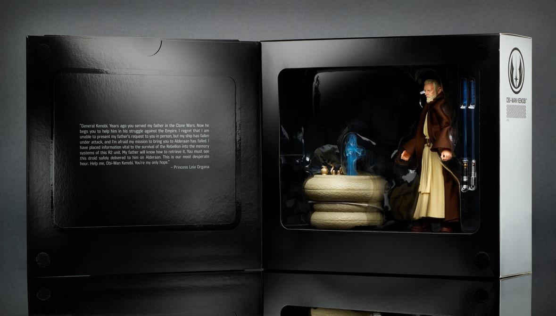 STAR WARS THE BLACK SERIES 6-Inch Obi-Wan Kenobi Pack - in pkg1