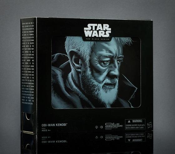 STAR WARS THE BLACK SERIES 6-Inch Obi-Wan Kenobi Pack - in pkg2