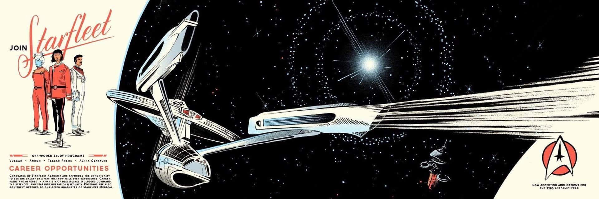 Wooden Starfleet reg