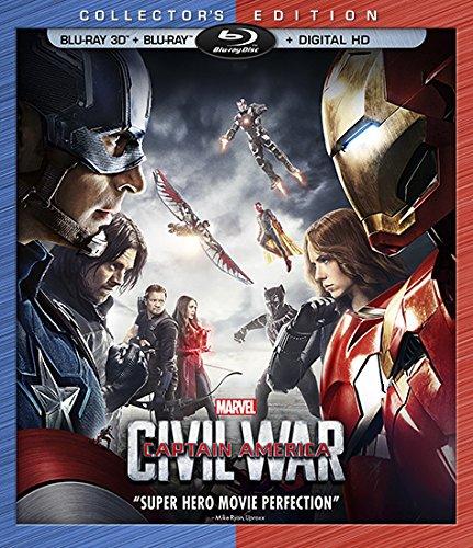 captian america civil war 3D cover