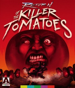 return of the killer tomatoes cover