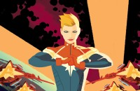 captain marvel comics banner