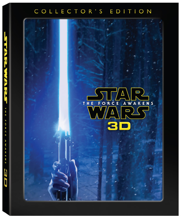 star wars the force awakens 3D cover