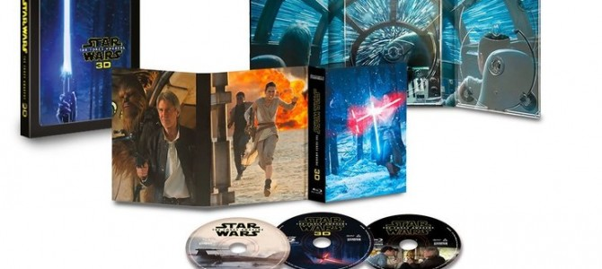 star wars the force awakens 3D layout