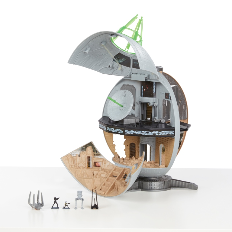 ROGUE ONE A STAR WARS STORY MICRO MACHINES DEATH STAR Playset - oop1