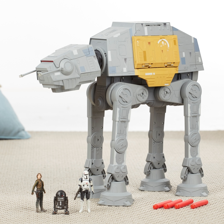 ROGUE ONE A STAR WARS STORY RAPID FIRE IMPERIAL AT-ACT Playset