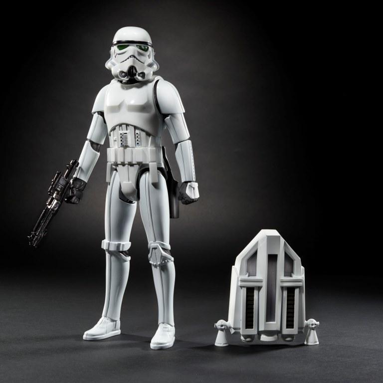 STAR WARS 12-INCH InteracTech Imperial Stormtrooper Figure - oop1