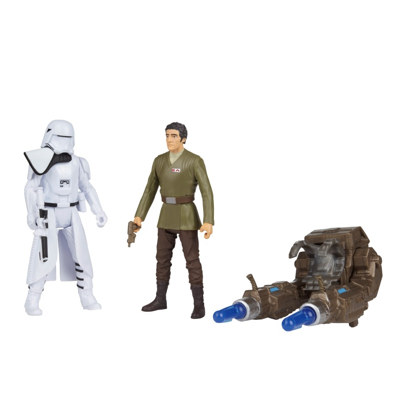 STAR WARS 3.75-INCH DELUXE FIGURE 2-PACK Assortment (First Order Snowtrooper & Poe Dameron)