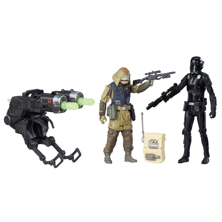 STAR WARS 3.75-INCH DELUXE FIGURE 2-PACK Assortment (Rebel Commando Pao & Imperial Death Trooper)