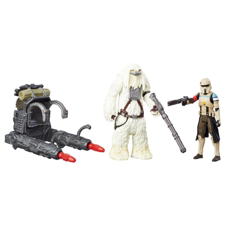 STAR WARS 3.75-INCH DELUXE FIGURE 2-PACK Assortment (Scarif Stormtrooper & Moroff)