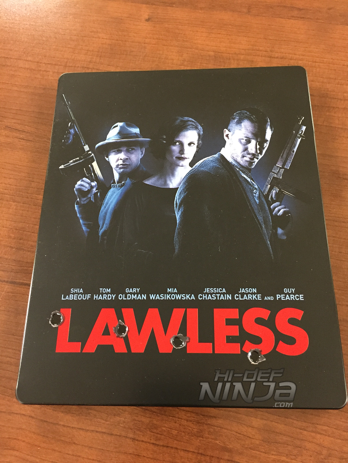 WAYBACK WEDNESDAY: LAWLESS Blu-ray SteelBook | Hi-Def ...