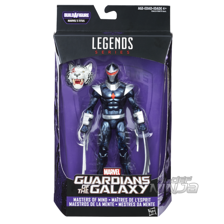 MARVEL GUARDIANS OF THE GALAXY VOL. 2 LEGENDS SERIES 6-INCH Figure Assortment (Darkhawk) - in pkg