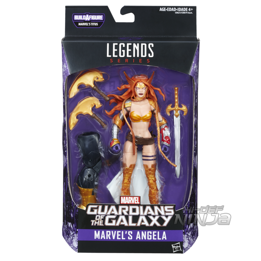 MARVEL GUARDIANS OF THE GALAXY VOL. 2 LEGENDS SERIES 6-INCH Figure Assortment (Marvel's Angela) - in pkg