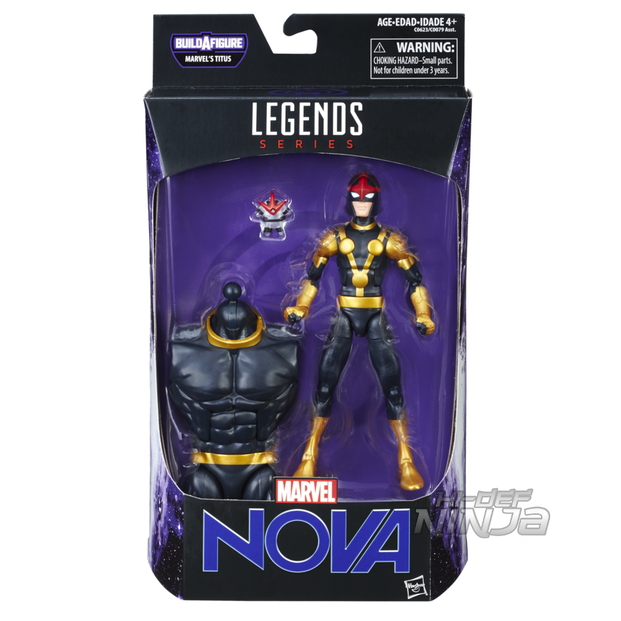 MARVEL GUARDIANS OF THE GALAXY VOL. 2 LEGENDS SERIES 6-INCH Figure Assortment (Marvel's Nova) - in pkg