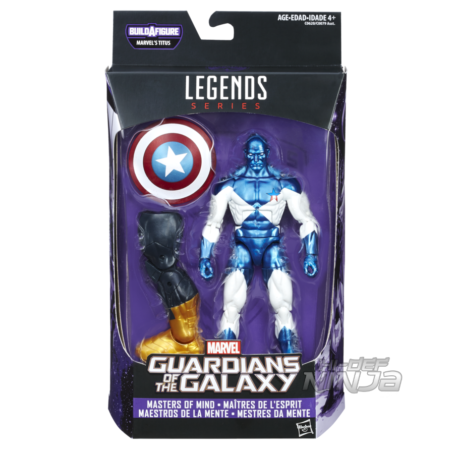 MARVEL GUARDIANS OF THE GALAXY VOL. 2 LEGENDS SERIES 6-INCH Figure Assortment (Vance Astro) - in pkg