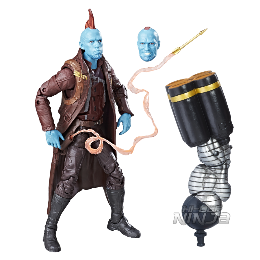 MARVEL GUARDIANS OF THE GALAXY VOL. 2 LEGENDS SERIES 6-INCH Figure Assortment (Yondu) - oop