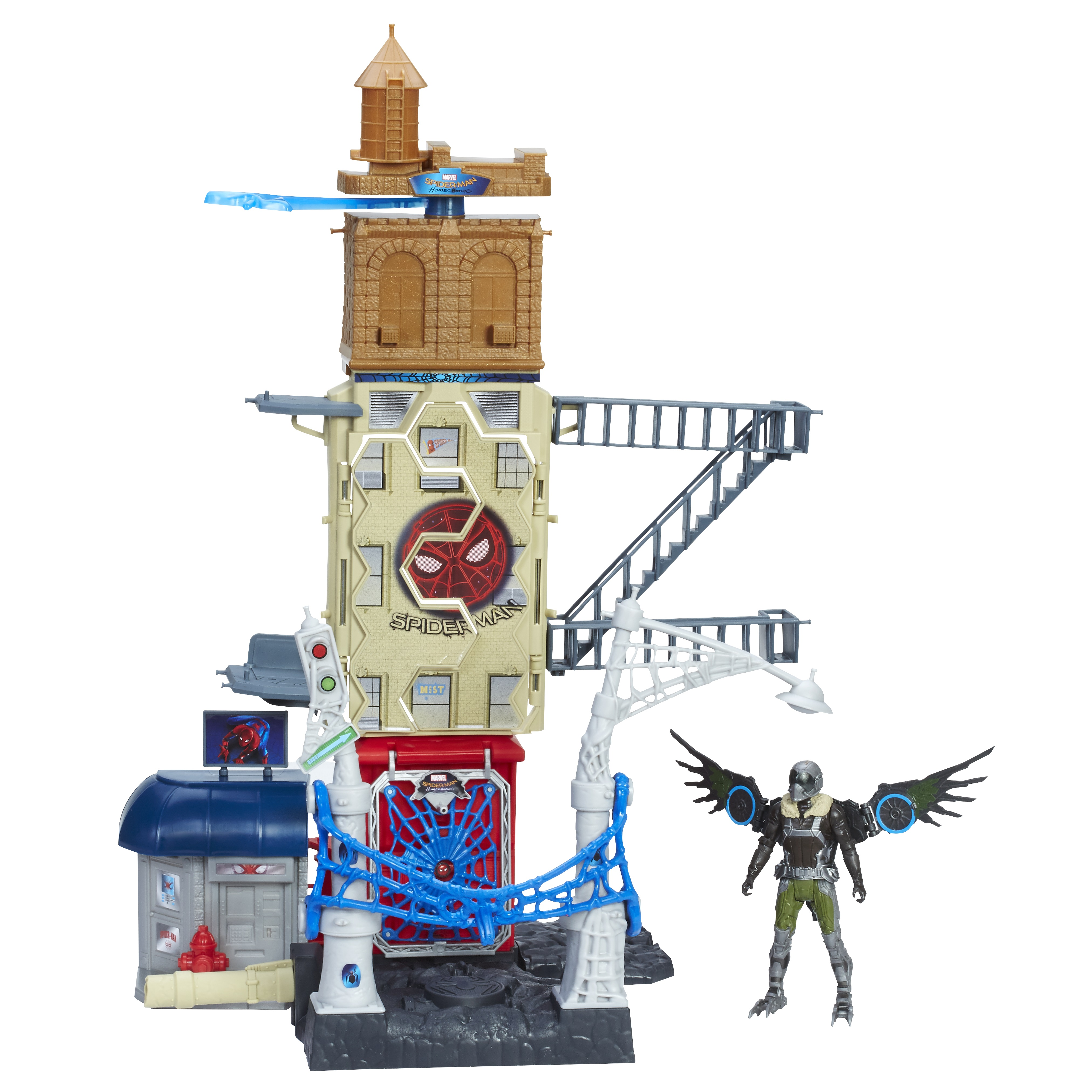SPIDER-MAN HOMECOMING MARVELGÇÖS VULTURE ATTACK SET