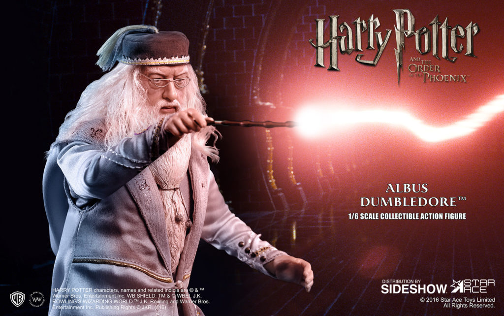 Albus Dumbledore II figure has been announced by Star Ace Toys LTD. and Sideshow Collectibles   Hi-Def Ninja - Blu-ray SteelBooks - Pop Culture - Movie News