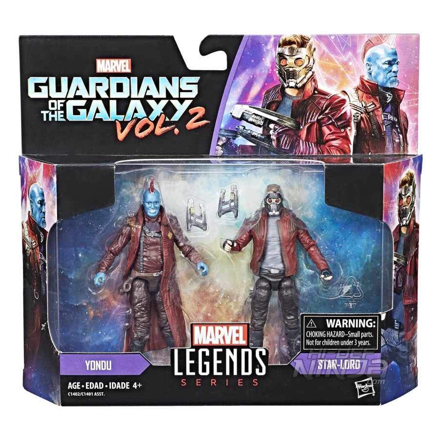 MARVEL LEGENDS SERIES 3.75-INCH 2-PACK Figure Assortment (GOTG) - in pkg