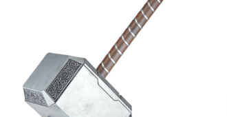 MARVEL LEGENDS SERIES THOR MJOLNIR (1) - White Background