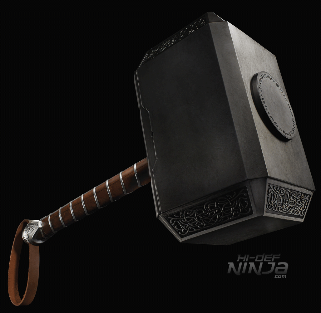 MARVEL LEGENDS SERIES THOR MJOLNIR (1)