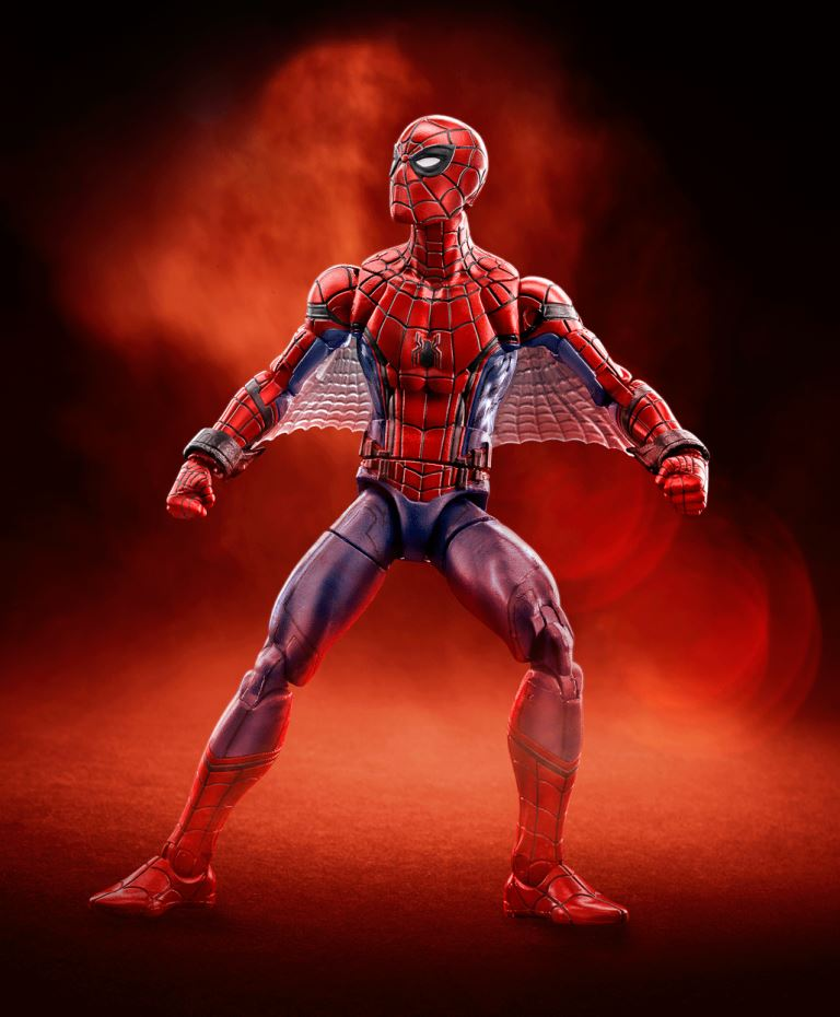 MARVEL SPIDER-MAN HOMECOMING LEGENDS SERIES 6-INCH Figure Assortment (Spider-Man Web Wings)