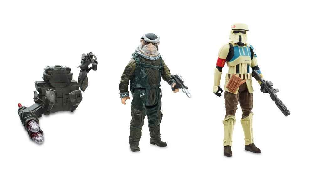 STAR WARS 3.75-INCH DELUXE FIGURE 2-PACK Assortment (Shoretrooper & Captain Bistan) - oop