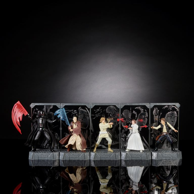STAR WARS THE BLACK SERIES 3.75-INCH TITANIUM SERIES Figure Assortment (2)