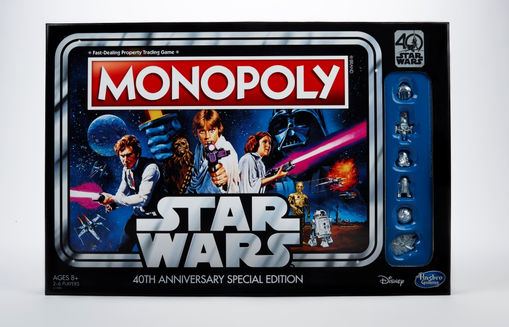 Star Wars Monopoly 40th Anniversary Edition - in pkg
