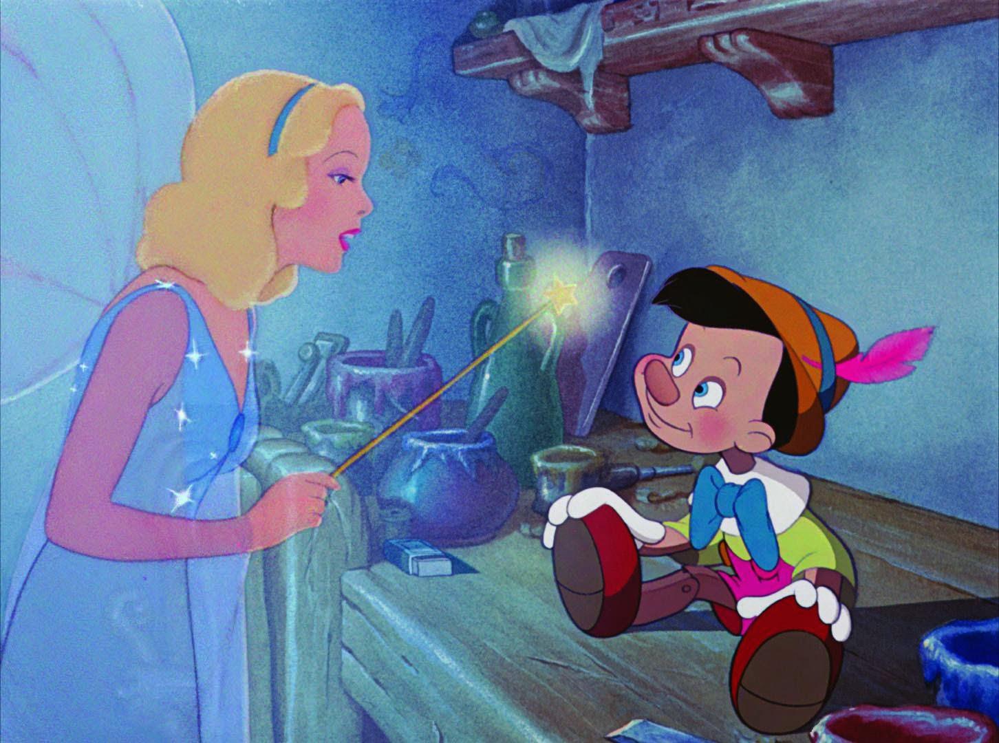 pinocchio- blue fairy