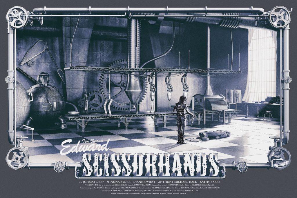 Edward Scissorhands Regular Edition