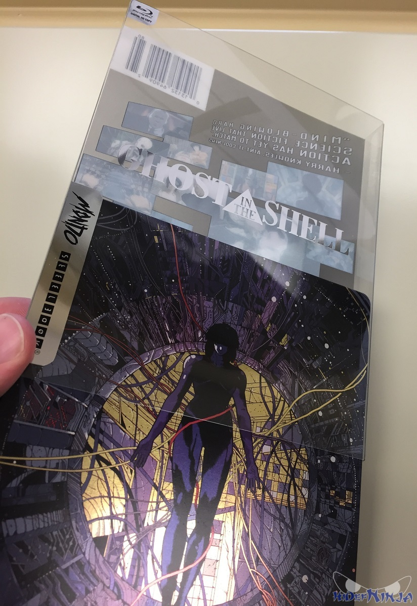 Ghost In The Shell Mondo SteelBook