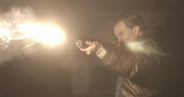 The Void - Aaron Poole firing gun