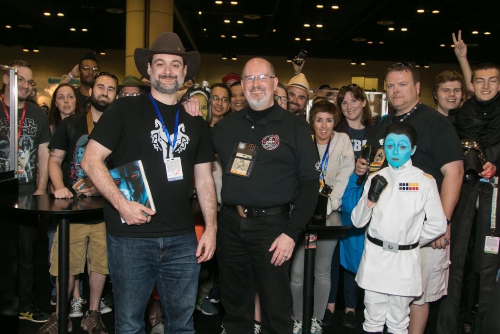 Grand Admiral Thrawn Figure Reveal - Tim Zahn, Dave Filoni, cosplayer
