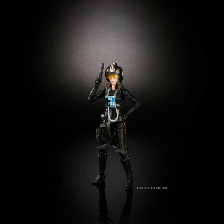 STAR WARS THE BLACK SERIES 6-INCH JAINA SOLO Figure - Fan Figure Vote 2016 Winner (1)