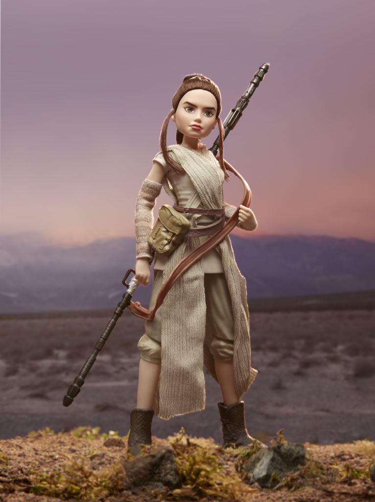Star Wars Forces of Destiny 11-Inch Adventure Figure Assortment - Rey