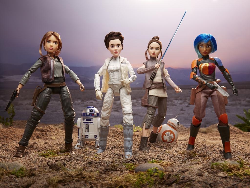 Star Wars Forces of Destiny 11-Inch Adventure Figure Assortment