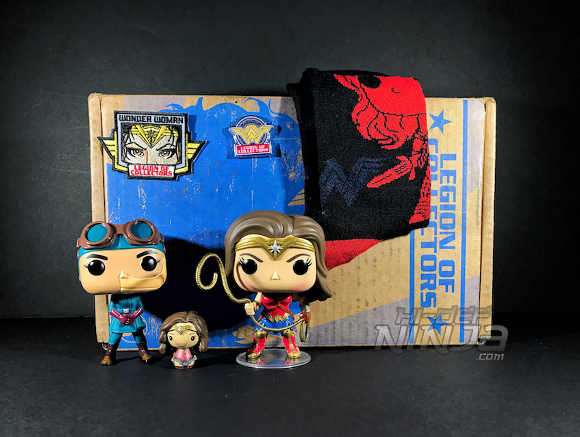 Unboxing And Review Of Dc Legion Of Collectors Wonder