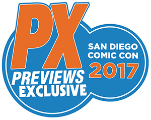 PREVIEWS Exclusive Logo
