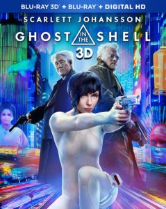 ghost in the shell 3d cover