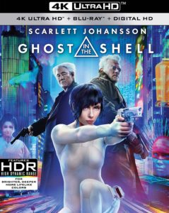 ghost in the shell 4k cover