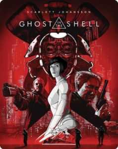 ghost in the shell steelbook cover
