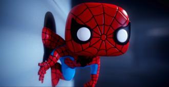 spiderman funko banner