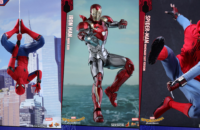 spiderman homecoming hot toys banner