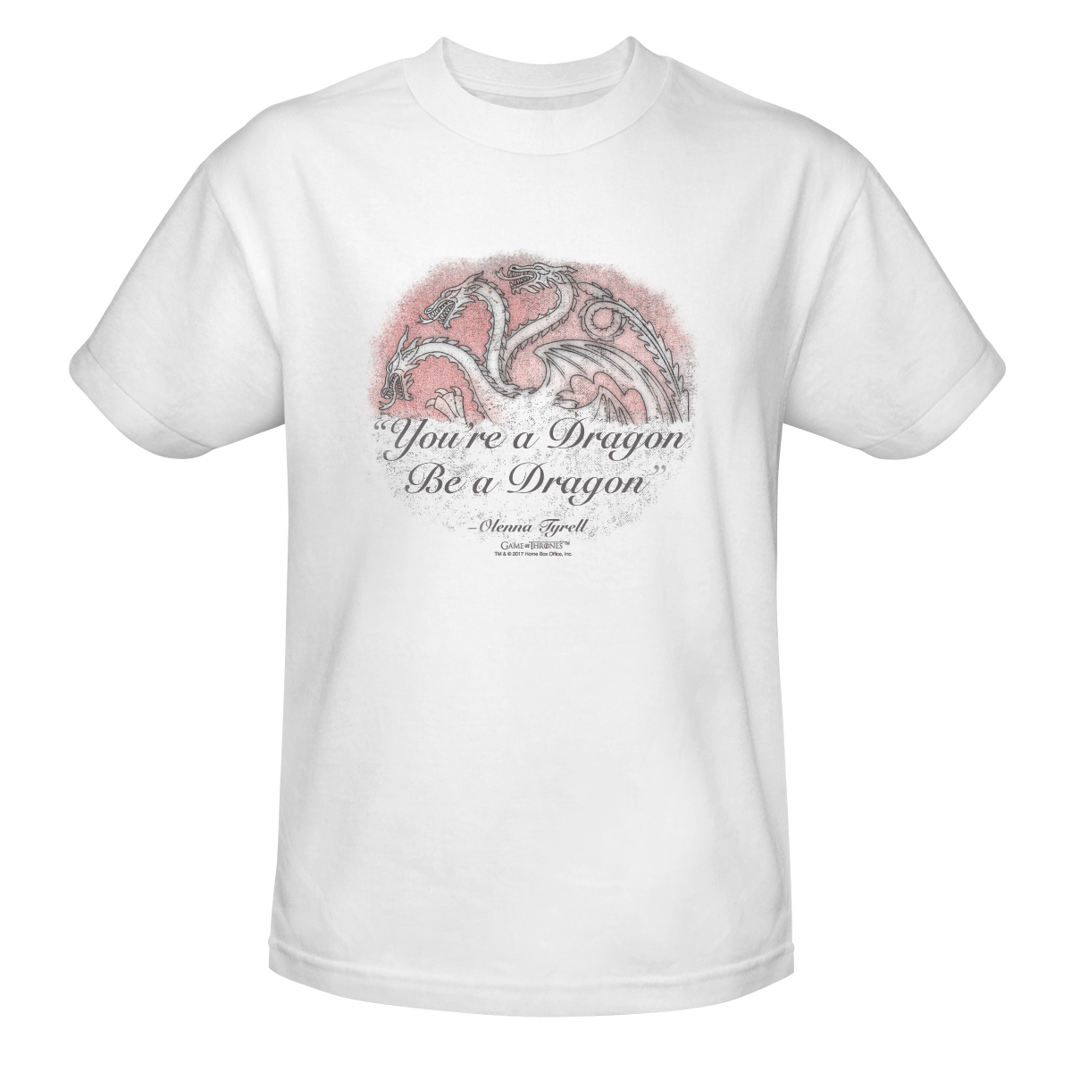 """You're a Dragon, Be a Dragon"" Mens Tee"