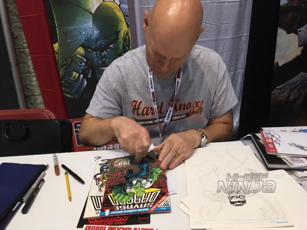 Erik Larsen, Image Comics co-founder and creator of Savage Dragon
