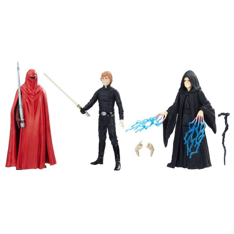 STAR WARS RETURN OF THE JEDI FORCE LINK 3.75-INCH FIGURE 3-PACK